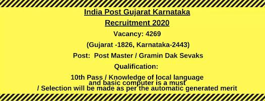 India-Post-Recruitment-Post-Master-Gramin-Dak-Sevaks.