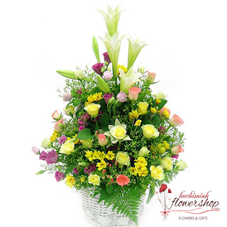 Beautiful flower delivered Hochiminh city