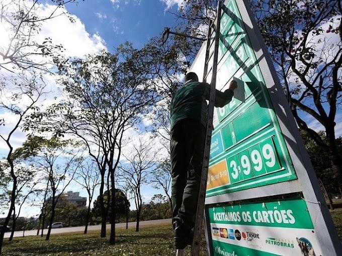 Petrobras anuncia quedas de 4% para preço da gasolina e de 5% para o diesel