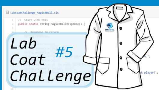Lab Coat Challenges: Challenge #5 Now Available ~ CRM Science