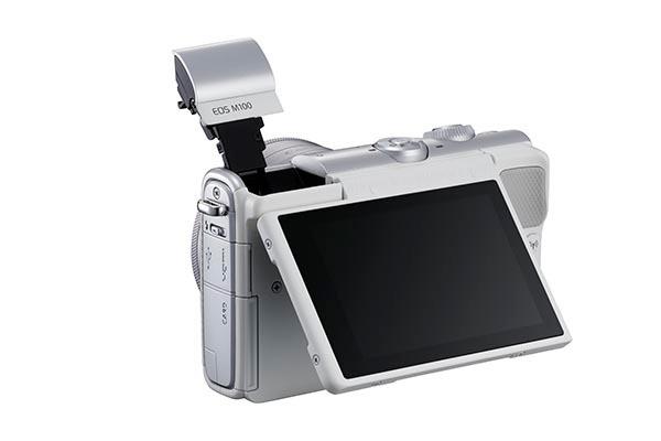 Canon EOS M100, вид сзади