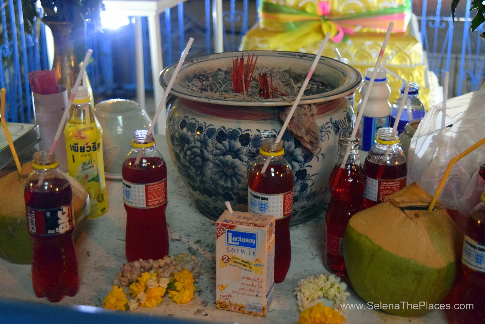 Offerings in Bangkok Thailand