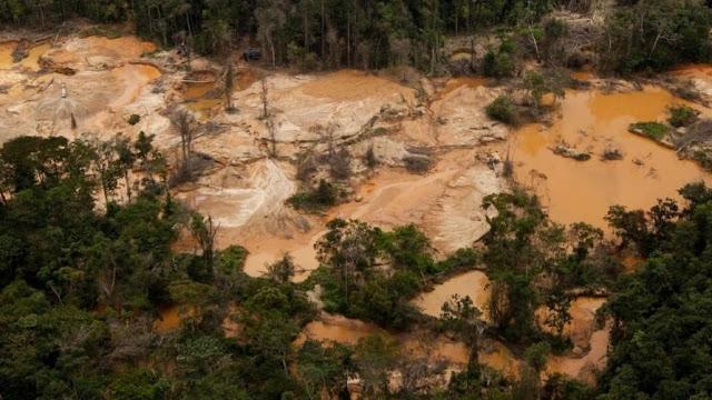 Así está el sur del Orinoco a consecuencia del Arco Minero