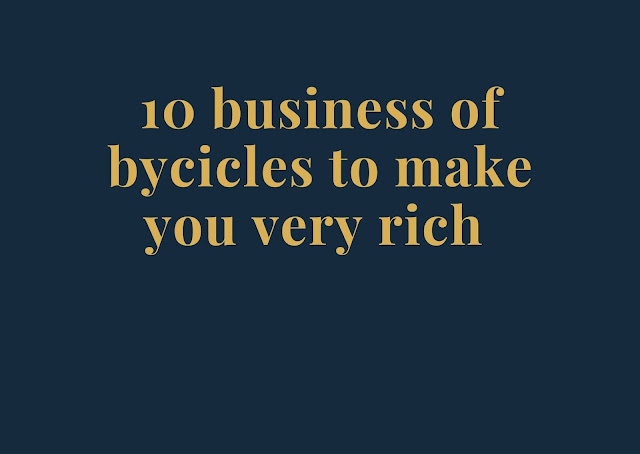 10 business ideas with bicycles for beginners