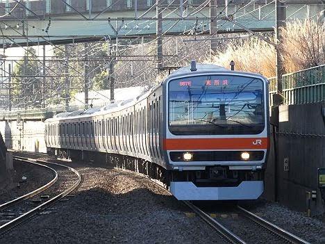 武蔵野線 東所沢行き4 E231系