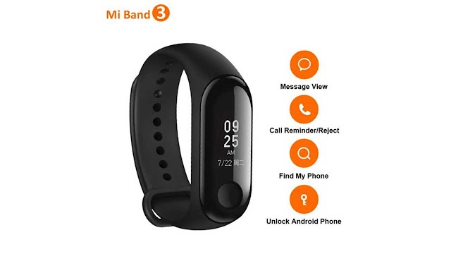Mi Band 3 Black | Rs 1,698