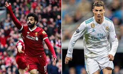 MO Salah and Cristiano Ronaldo