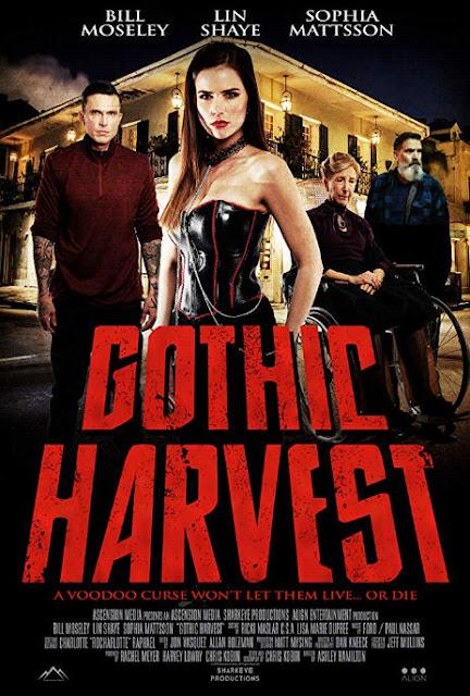 """""""Gothic Harvest"""" (2019): Bill Moseley y Lin Shaye se enfrentan a una maldición vudú"""