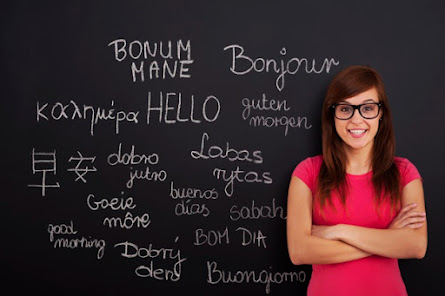 practice the foreign language
