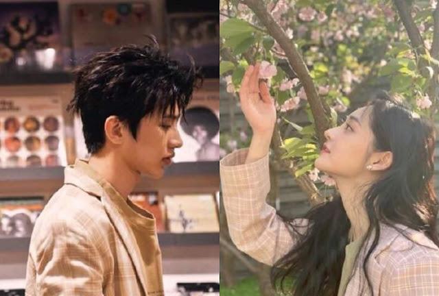 Zhou Jieqiong Cai Xukun dating rumors