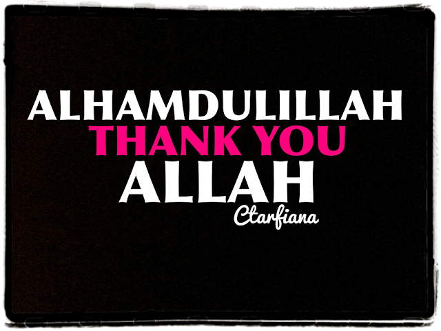 Thank You Allah - Islamic Quotes