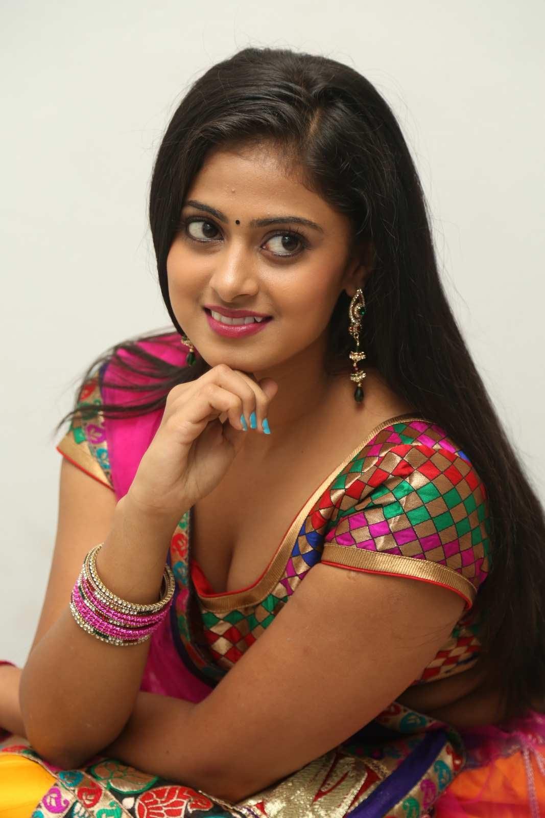 Megha Sree Sizzling Photos - South Indian Actress-6600