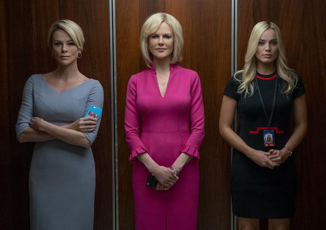 """Alguém precisa falar no 1º trailer de """"O Escândalo"""", com Charlize Theron, Margot Robbie e Nicole Kidman"""