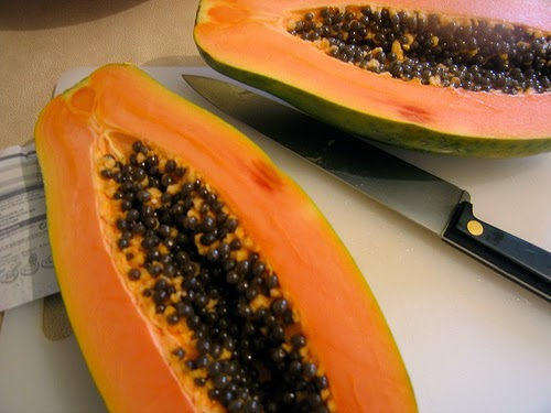 Papaya is a tropical fruit crop in Kenya, South Africa, Côte d'Ivoire, Uganda, and Zimbabwe.