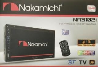 Head unit mobil Nakamichi NA3100i