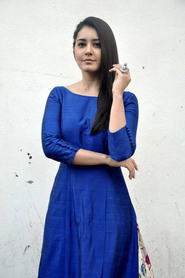 Hot Actress Rashi Khanna Stills At Audio launch