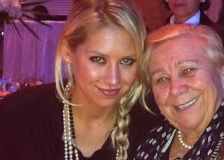 Anna With Her Grandma