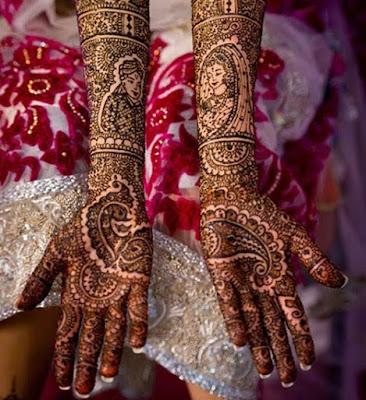 Mehendi,Peacock Bridal Mehendi