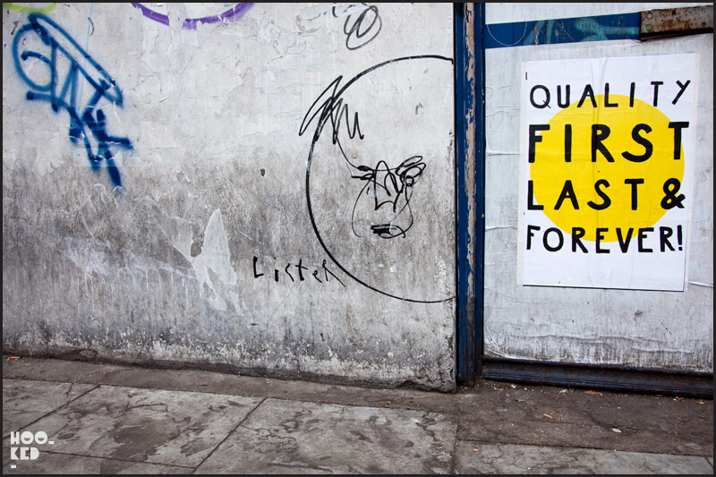 London street art by artist Anthony Lister