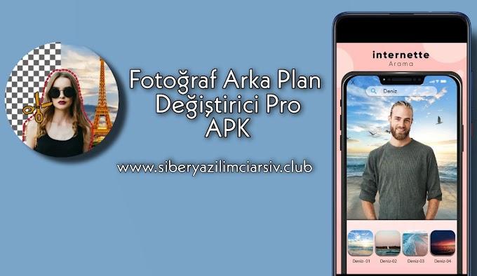 Arka Plan Değiştirici v5.1.0 Pro APK
