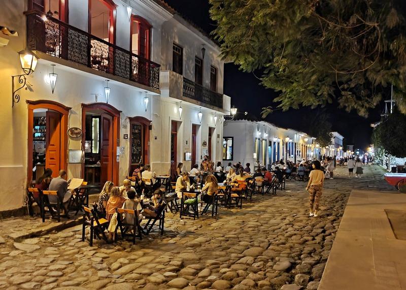 Restaurantes em Paraty