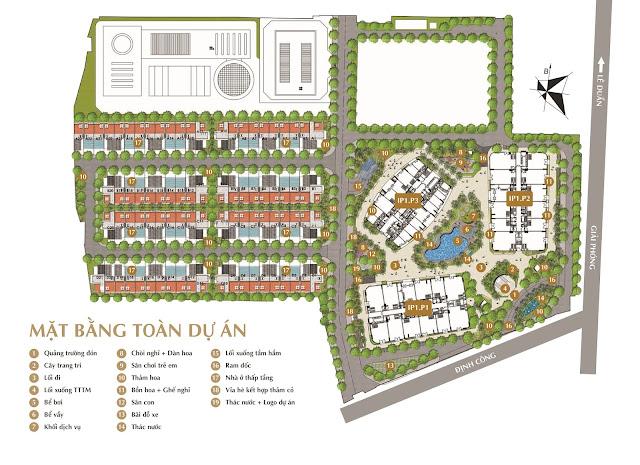 Phối cảnh tổng thể toàn dự án Imperial Plaza