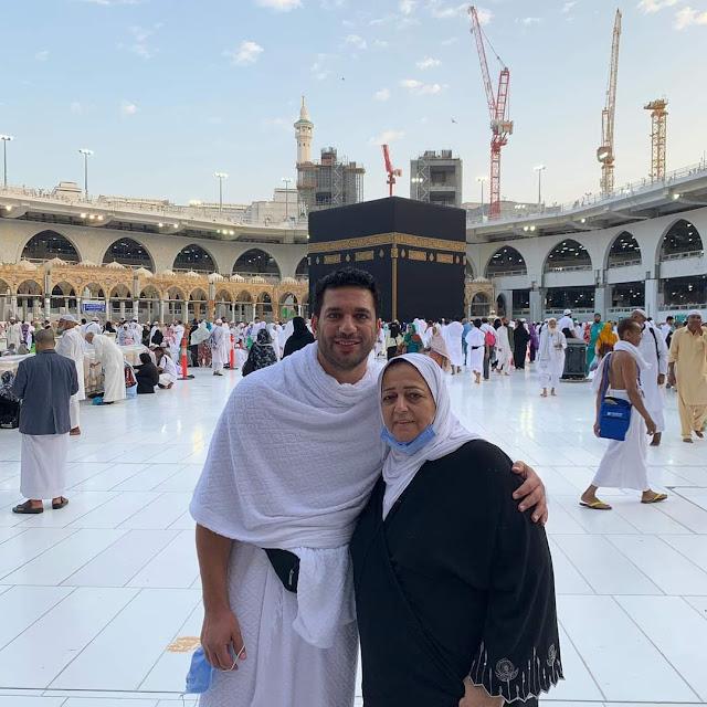 وفاة والدة الفنان حسن الرداد