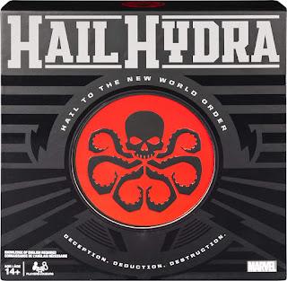 Marvel Hail Hydra Board Game