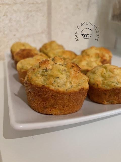 Muffins poireaux truite - IG bas