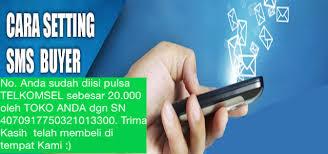 Cara Seting SMS Buyer Jelita Reload Pulsa