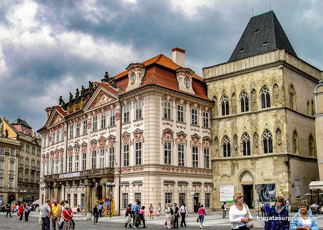 Palácio Kinský, Praça da Cidade Velha, Praga, República Tcheca