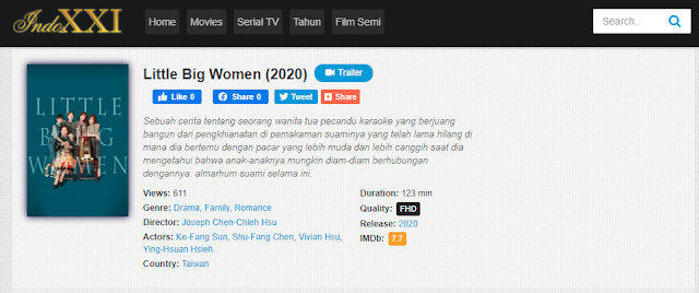Nonton Film Little Big Women (2020 Sub Indo Full Movie Terbaru 2021