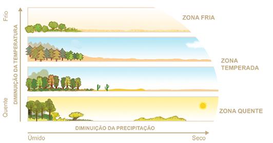 Professor wladimir geografia mapas mundi biomas e for Temperatura frigo da 1 a 7