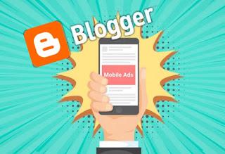 Publicidad móvil en Blogger