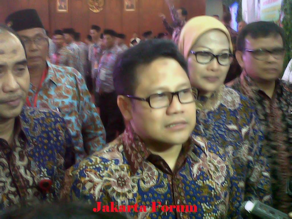 Cak Imin Siap Bila Dipilih Jadi Menteri Perminyakan Jakarta Forum