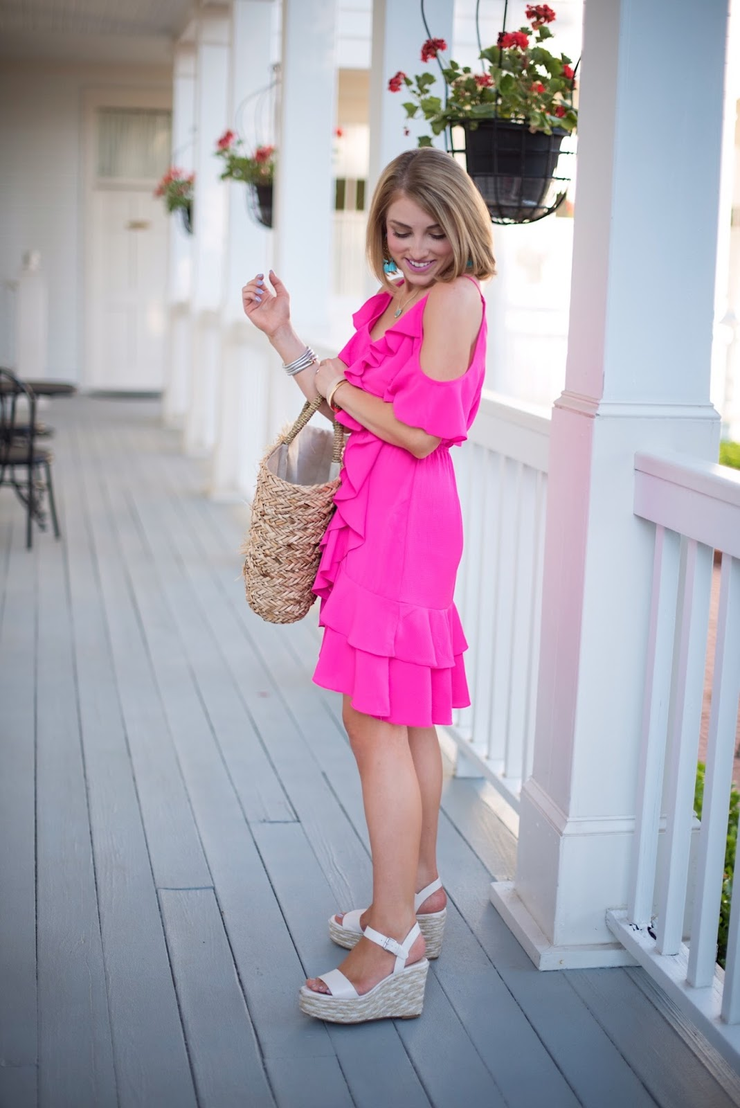 Little Pink Dress - Click through to see more on Something Delightful Blog.