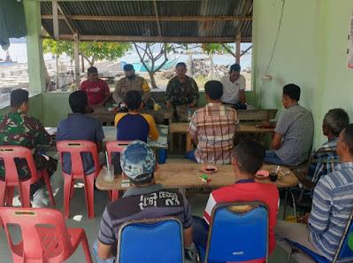 TNI,Polri dan Nelayan Pulau Nasi komitmen Jaga kelestarian ekosistem laut