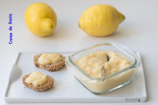 Crema de Limón ligera
