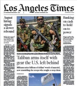 Los Angeles Times Magazine 4 September 2021