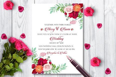 cetak undangan pernikahan terdekat
