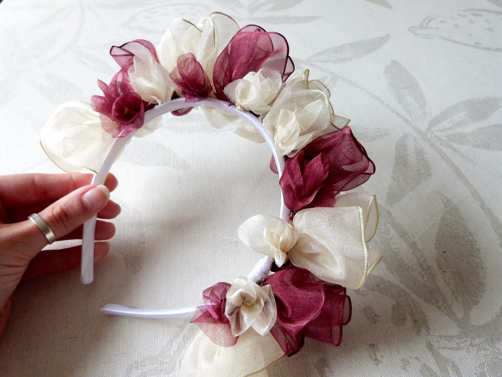 Trends With Benefits Diy Flower Headband Inspired By The