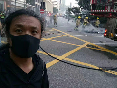 辽宁省朝阳市刘红志因前往香港声援反送中运动  遭警方拘留