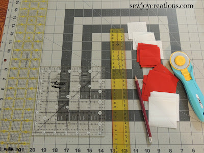 different rulers that are useful in making patchwork blocks