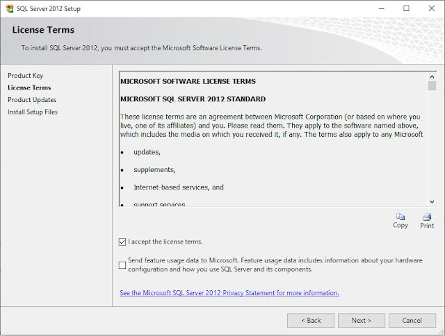 SQL Server 2012 Installasi