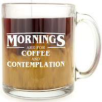 Stranger Things, Coffee Mug, Mornings are for coffee and contemplation, Gifts, Merchandise, Stephen King Store