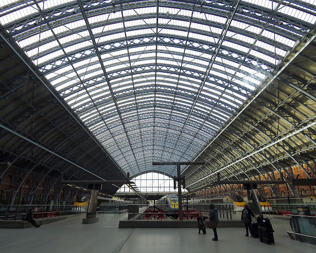St Pancras Railway Station, Euston Road, Camden, London