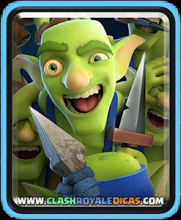 Gangue de Goblins - Nova carta Rara