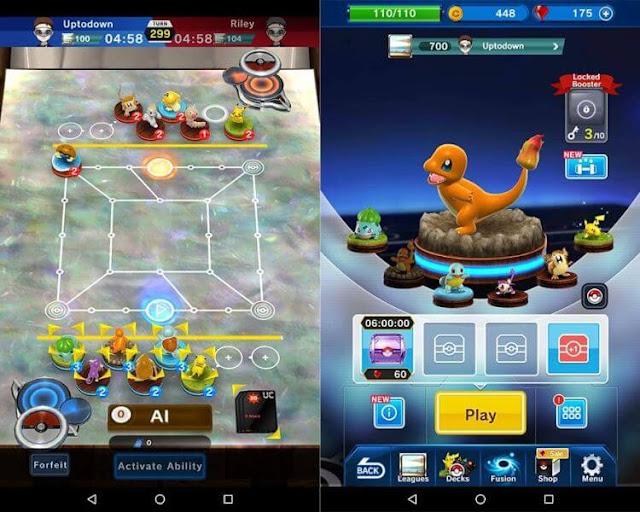 Daftar Game Pokemon Resmi (Buatan Official) Untuk Android - Pokemon Duel