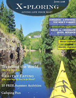 X-ploring magazine food and travel
