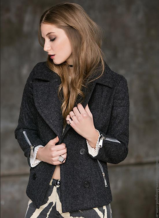 Moda invierno 2016 ropa de mujer Falabella.